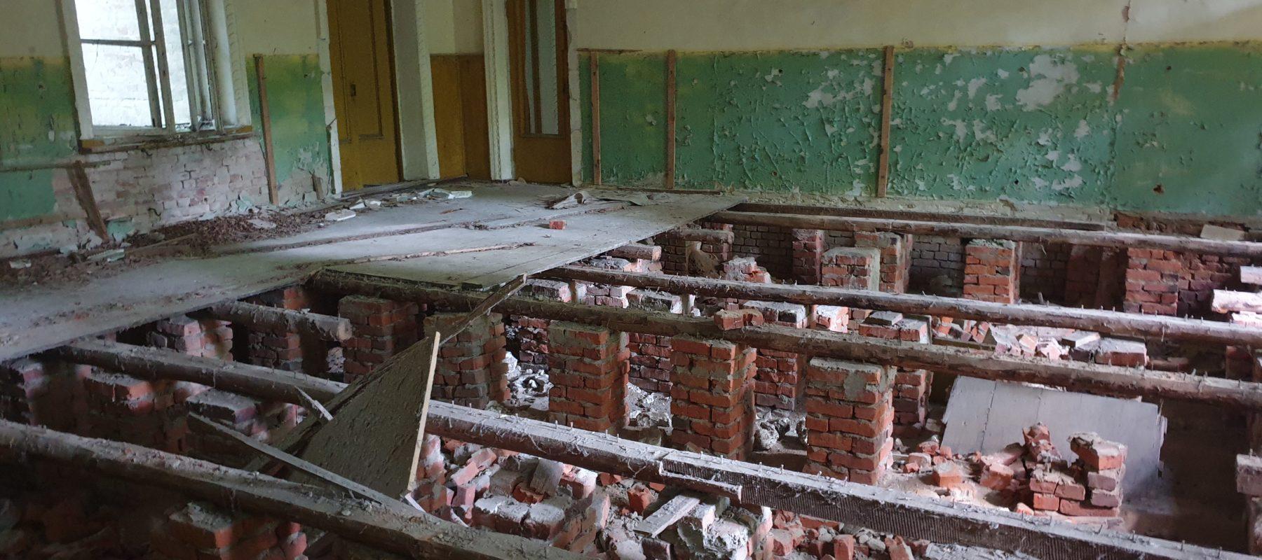 House of Culture Zalissia. Floor