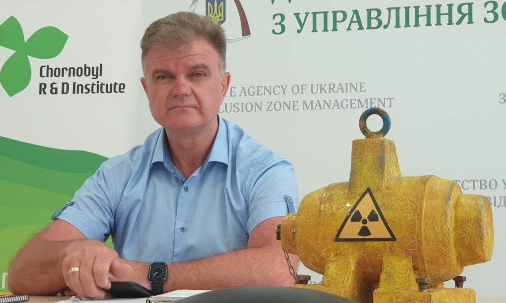 """I would not like to leave such a legacy to descendants"" – Chairman of the State Agency for Exclusion Zone Management Serhiy Kalashnyk supported the project ""KROK do Bezpeky"" (STEP to Safety)"